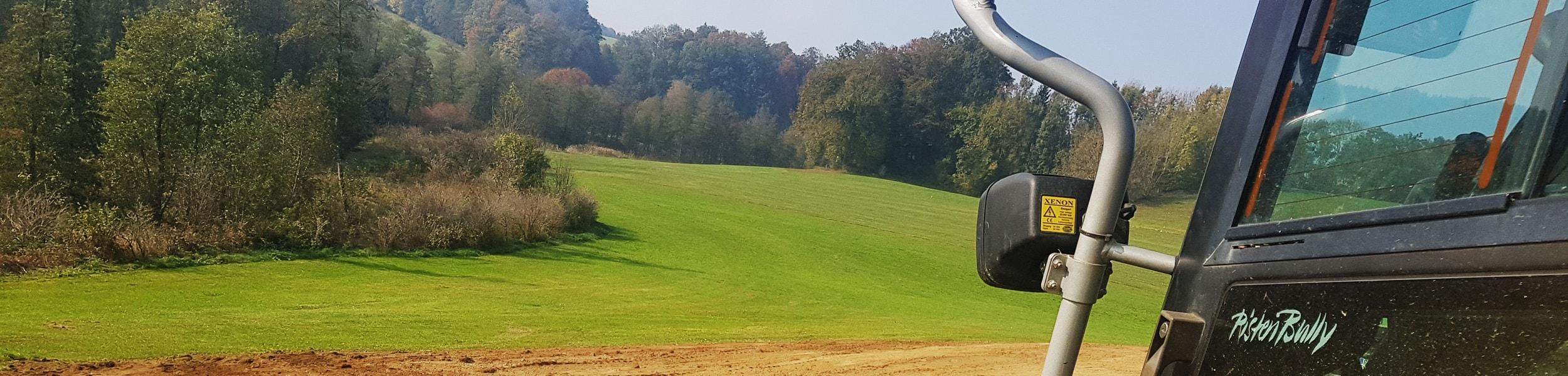 Landschaftspflege Lohnbetrieb PistenBully